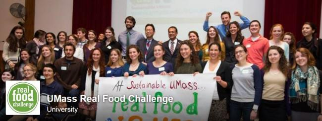 Group shot of the sustainable real food challenge.